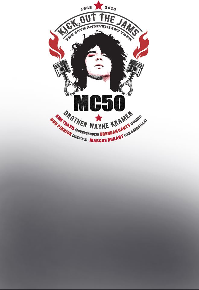 MC50 (US), support The Nomads
