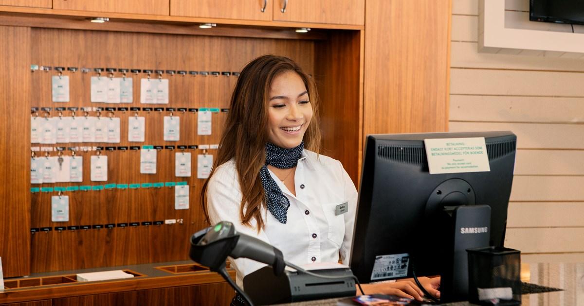 lediga jobb receptionist