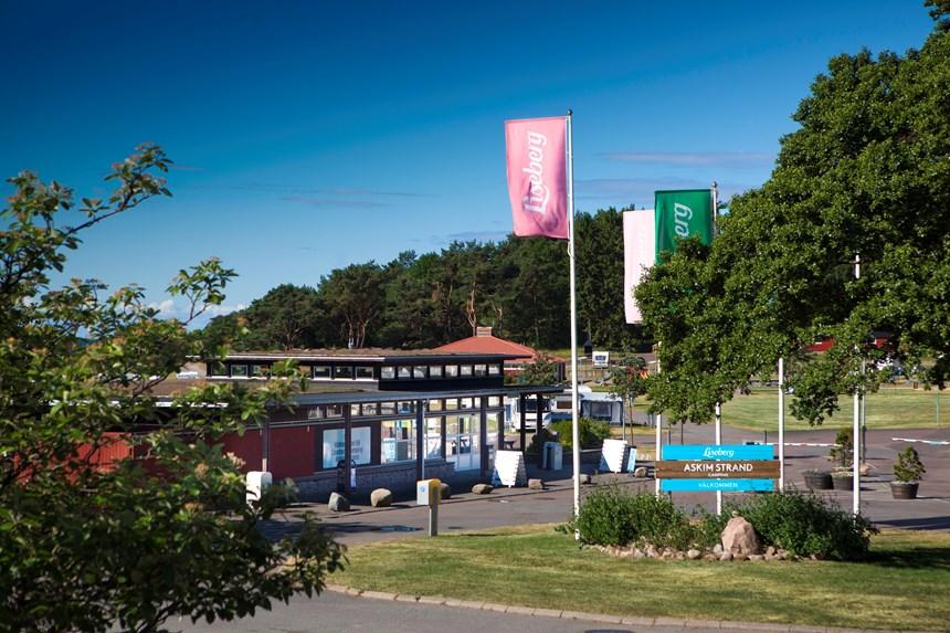 CAMPINGKARTAN.SE » Lisebergs drop in camping Delsjön » Tält